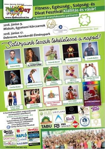 65f1584544 A FAMILY PERFECT DAY egy olyan különleges és nagyméretű közösség  rendezvény, ahol a mozogni, táncolni és sportolni vágyó gyermekek,  fiatalok, felnőttek nagy ...